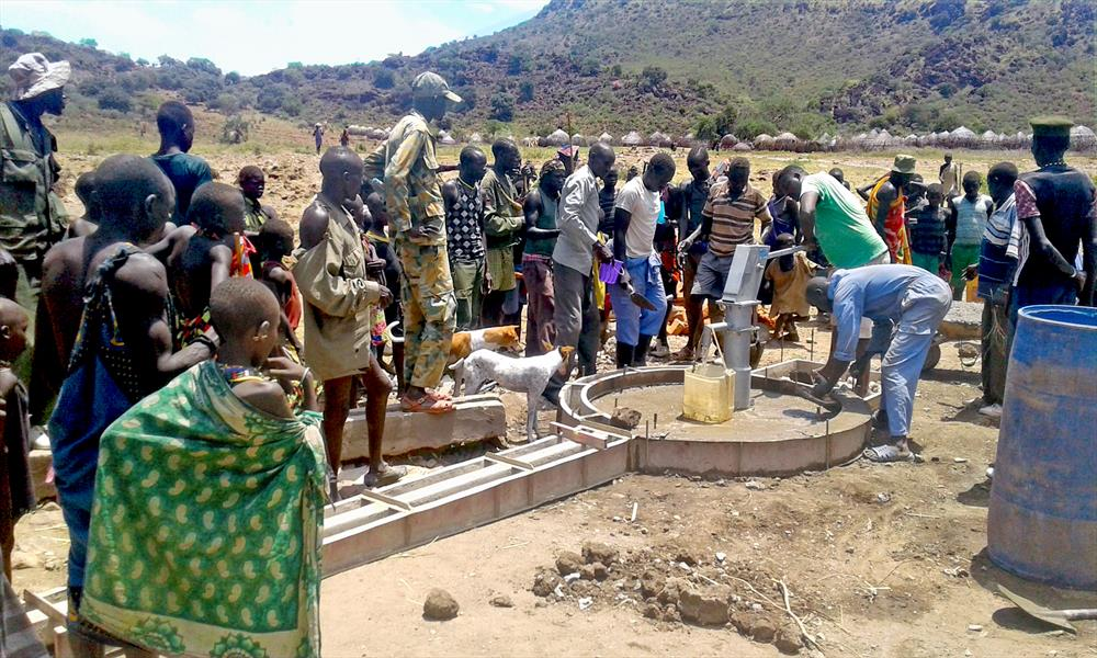 Water, peace and development: drivers of change in
